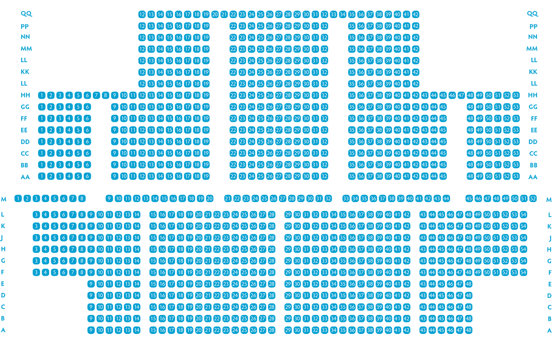 Seating Plans For The Gordon Craig Theatre Stevenage